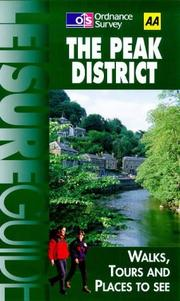 Cover of: Peak District (Ordnance Survey/AA Leisure Guides)