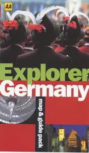 Cover of: Germany (AA Explorer)