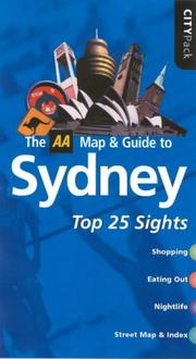 Cover of: AA CityPack Sydney (AA CityPack Guides)