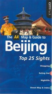 Cover of: AA CityPack Beijing (AA CityPack Guides)