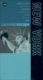 Cover of: Weekend Escape | Martin Knowlden