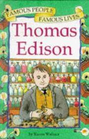 Cover of: Thomas Edison (Famous People, Famous Lives)
