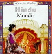 Cover of: Hindu Temple (Where We Worship)