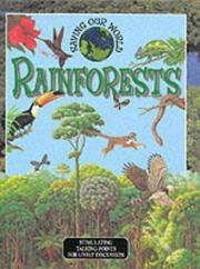 Cover of: Rainforests (Saving Our World)