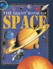 Cover of: The Giant Book of Space (Giant First Book of)