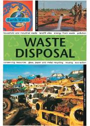 Cover of: Waste Disposal (Earth Watch