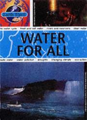 Cover of: Water for All (Earth Watch)