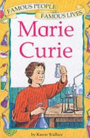 Cover of: Marie Curie (Famous People, Famous Lives)