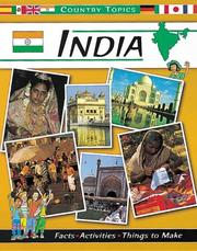 Cover of: India (Country Topics)