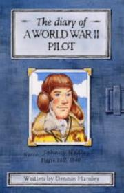 Cover of: World War II Pilot (History Diaries)