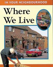 Cover of: Where We Live (In Your Neighbourhood)