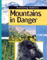 Cover of: Mountains in Danger (Protecting Habitats)