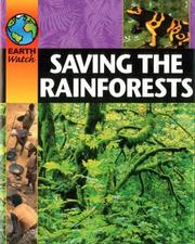 Cover of: Saving the Rainforest (Earth Watch)
