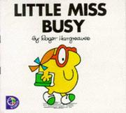 Cover of: Little Miss Busy by Roger Hargreaves