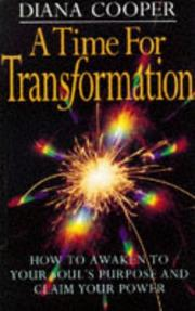 Cover of: A Time for Transformation | Diana Cooper