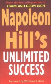 Cover of: Napoleon Hill's Unlimited Success