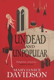 Cover of: UNDEAD AND UNPOPULAR (BETSY TAYLOR, NO 5)