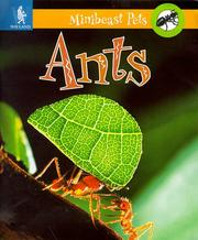 Cover of: Ants (Minibeast Pets)