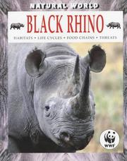 Cover of: Black Rhino (Natural World)
