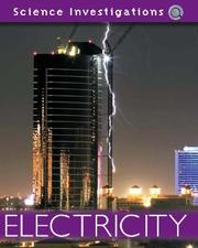 Cover of: Electricity (Science Investigations)