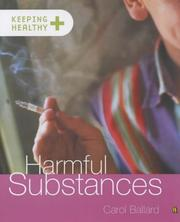 Cover of: Harmful Substances (Keeping Healthy)
