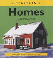 Cover of: Homes (Starters)