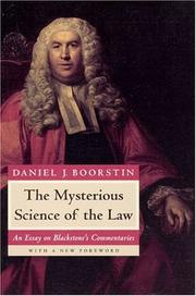 Cover of: The mysterious science of the law