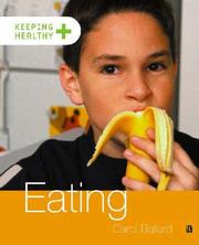 Cover of: Eating (Keeping Healthy)