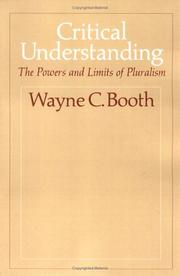 Cover of: Critical Understanding