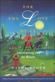 Cover of: For the Love of It