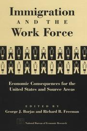 Cover of: Immigration and the work force