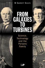Cover of: From Galaxies to Turbines  | W.G.S Scaife