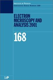 Cover of: Electron Microscopy Analysis 2001 |