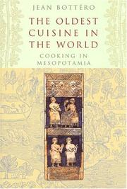 Cover of: The Oldest Cuisine in the World