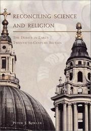 Cover of: Reconciling science and religion