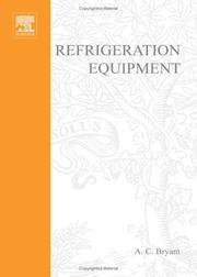 Cover of: Refrigeration equipment | A. C. Bryant