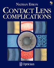 Cover of: Contact lens complications