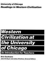 Cover of: Western Civilization at the University of Chicago