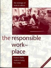 Cover of: The responsible workplace
