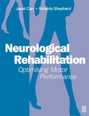 Cover of: Neurological rehabilitation