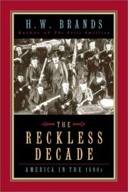 Cover of: reckless decade | Henry William Brands