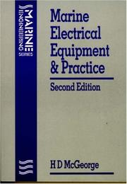 Marine electrical equipment and practice by McGeorge, H. D.