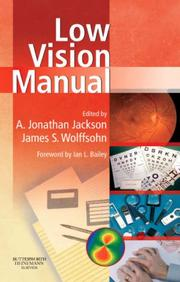 Cover of: Low Vision Manual |