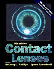 Cover of: Contact lenses |