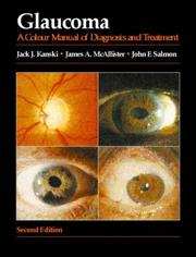 Cover of: Glaucoma: a colour manual of diagnosis and treatment