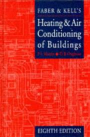 Cover of: Faber & Kells heating and air-conditioning of buildings