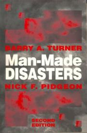Cover of: Man-made disasters