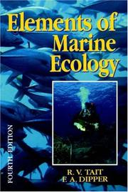 Elements of marine ecology by R. V. Tait