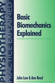 Cover of: Basic biomechanics explained