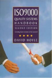 Cover of: ISO 9000 quality systems handbook